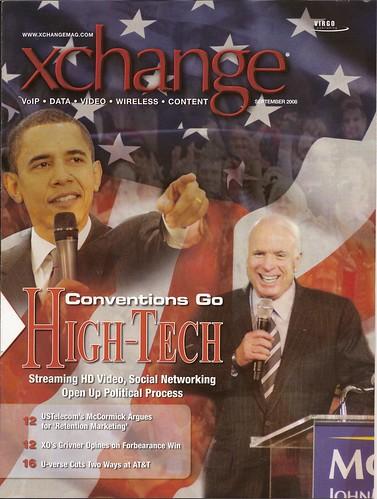 1st Magazine Cover (xchange Magazine)