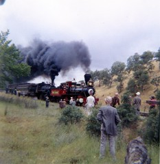Sierra Railroad (Andy961) Tags: california ca railroad film train engine railway sierra steam 127 locomotive jamestown kodacolor tuolumnecounty