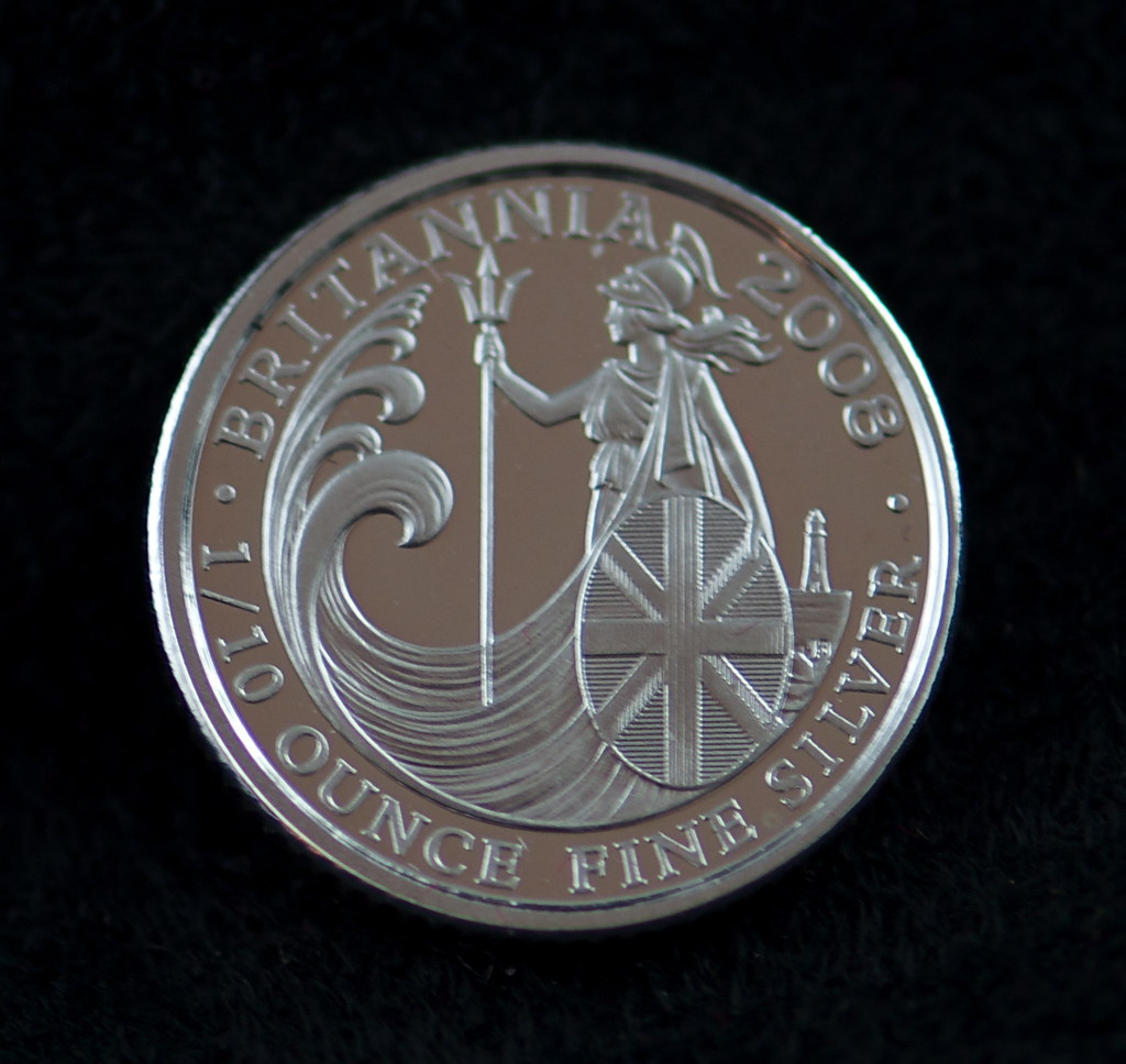 Fine silver - a whole 1/10th of an ounce!
