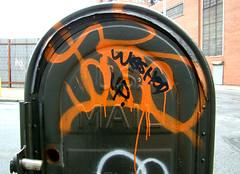 (Laser Burners) Tags: nyc brooklyn graffiti gothamist ja streetsy xtc bushwick diss citynoise jaone