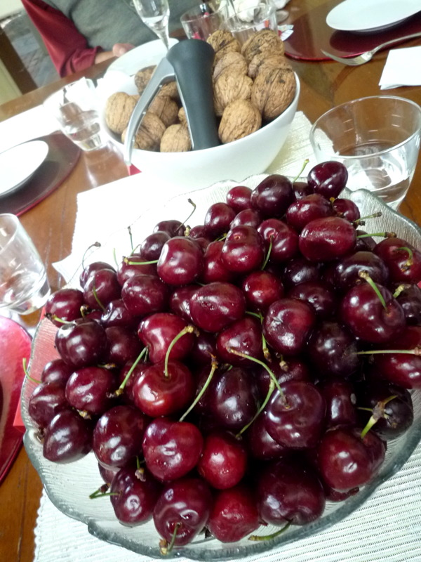 Ubercherries and walnuts