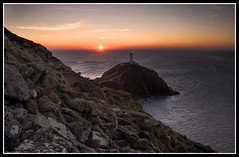 South stack sunset (ShaunW (shandys_preston)) Tags: sunset wales south stack anglesey bej flickrdiamond