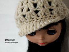 Blythe's croched winter cap