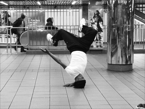 Street Dancer, NYC