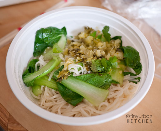 Spicy Beef Noodle Soup (sans soup)