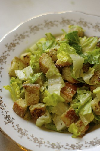 Caesar Salad with home made Croutons