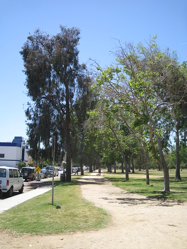 path in North Hollywood Park