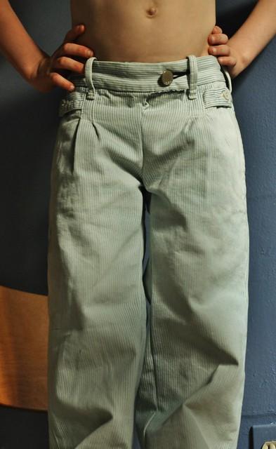 new pants.