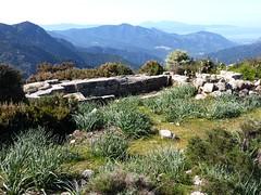 Crêtes de Marignana : chapelle ruinée de Santa Degna