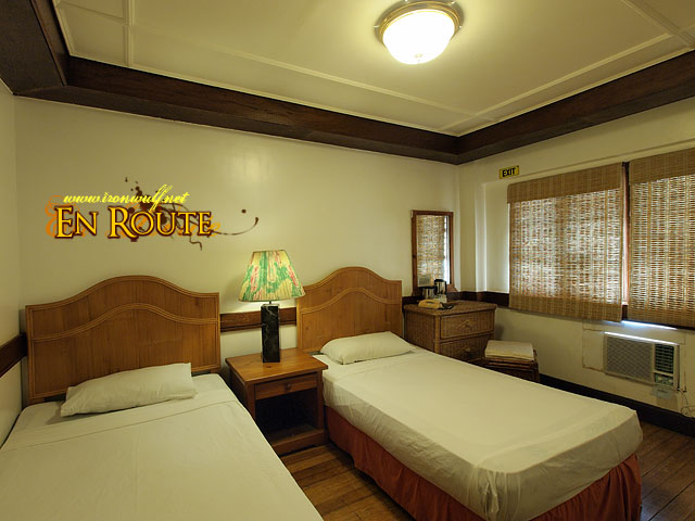 The Twin Bed Room at Corregidor Inn