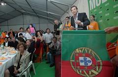 Pedro Passos Coelho Jantar em Barcelos