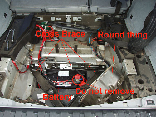 Edu How To Change The Battery In An X5 2001 Bimmerfest Bmw Forums