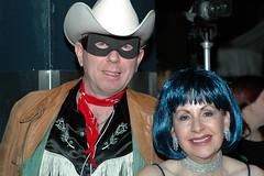 Femme Fatale Carnivale 2008 (Sherlock77 (James)) Tags: people woman man calgary cowboy mask crowd cowboyhat femmefatalecarnivale