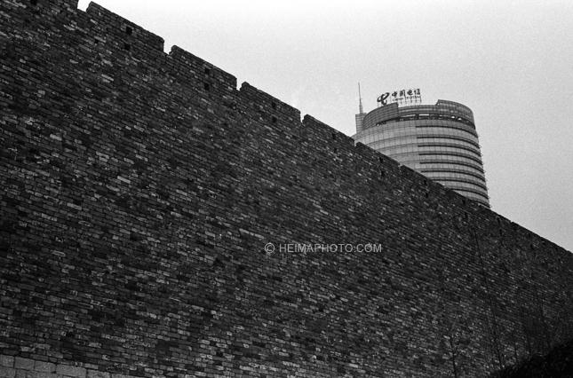 南京中央门老城墙