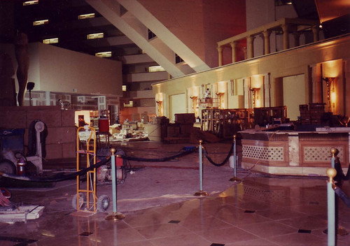 Luxor Hotel Remodel 1996 from Flickr