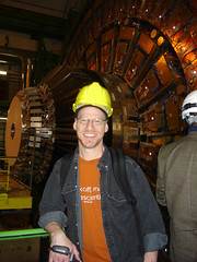 Me at the Large Hadron Collider (CMS)