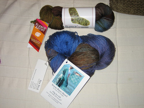 Souvenir Yarn Stash Acquisition
