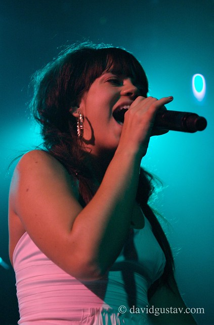 Lily Allen @ Fillmore East Irving Plaza by David Gustav