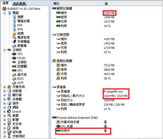 我的桌上型電腦—安裝 RamDisk 後