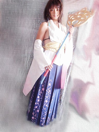 Final Fantasy Yuna Foto Cosplay