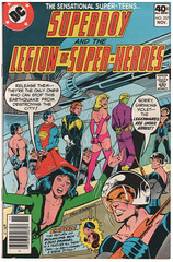 Legion of Super-Heroes 257 (Todd Wilson) Tags: comics superboy lsh legionofsuperheroes legionaires