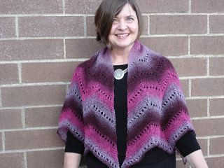 Kauni Lace as knitted by Lisa