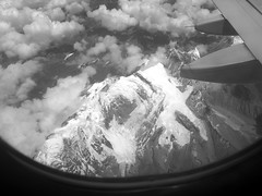 Flying with Mountain Vistas