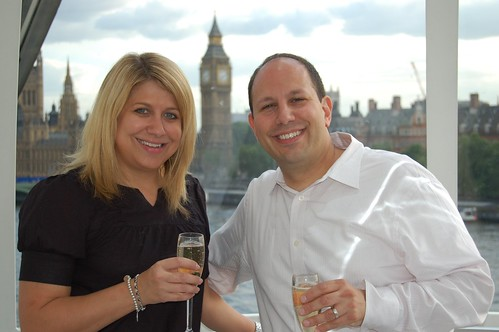 London Eye champagne flight