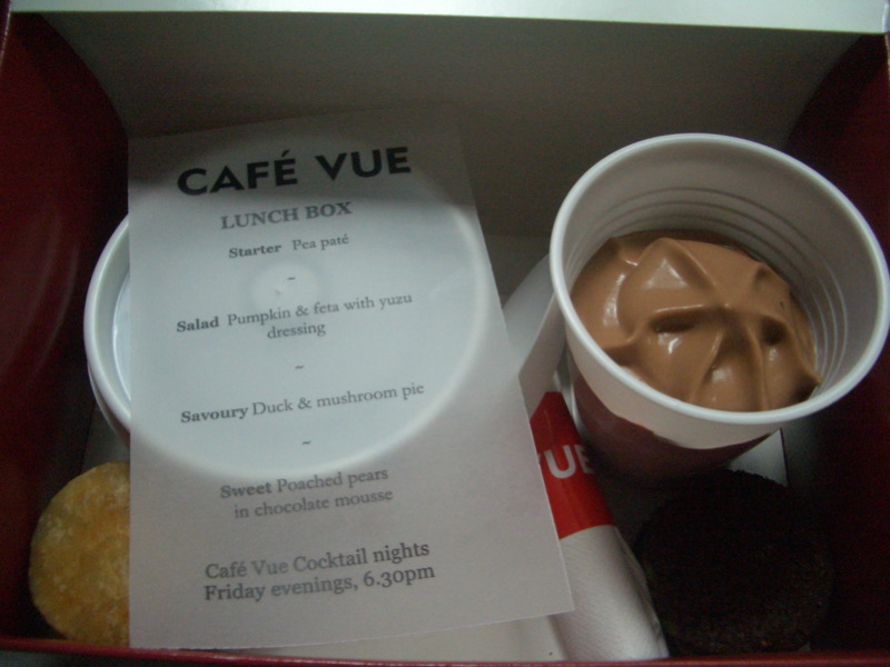 Cafe Vue June lunchbox