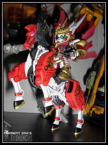 SD Gundam Cao Cao w/ Red Hare