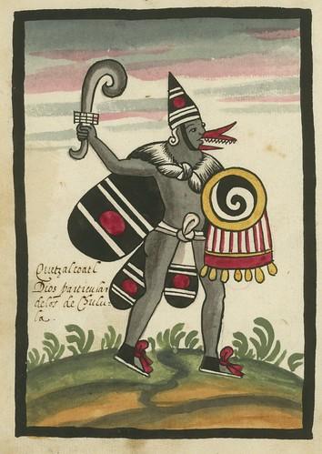 06- 6a Quetzalcoatl, Dios particular de los de Chulula.