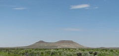 frontside of Saddle Butte