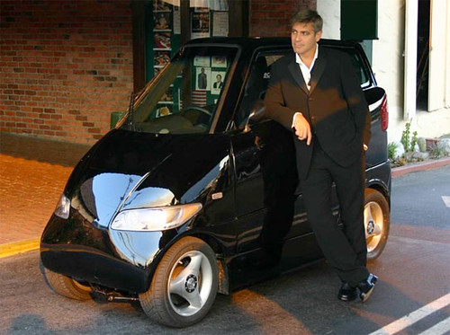 George Clooney Electric Car