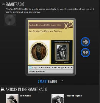 Deezer SmartRadio