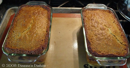 Honey Fruit Bread: Baked