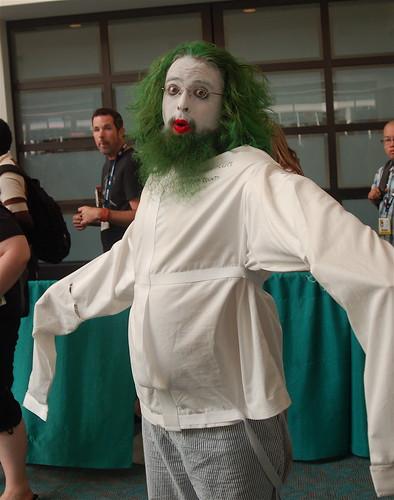 Costume Checklist Straight Jacket Joker