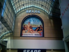 The New 90210 (Sweet One) Tags: new toronto ontario mall poster sears centre hills advertisement eaton beverly 90210 global grimes shenae