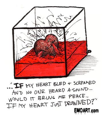قلوب ايمو heart