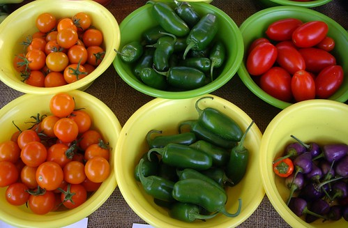 Sungold Tomatoes, Jalapenos, and More from Honeyrun Farm
