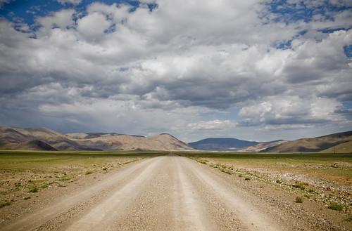 Mongolian steppe
