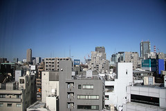 View north from first hotel room (silvermeat) Tags: 20d japan skyline tokyo roppongi  30d ykk