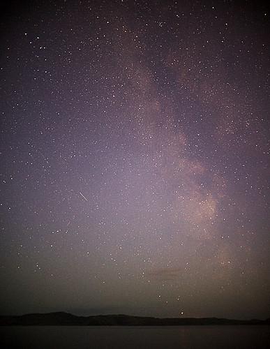 Kleifarvatn at night