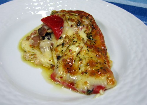 Baked Stuffed Provolone