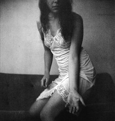 (alex-malex) Tags: bw 120 self square hand medium nightdress blancinegre expiredfilm orwo afterthought np22 r09 start66 alexmalex aleksandrapatova