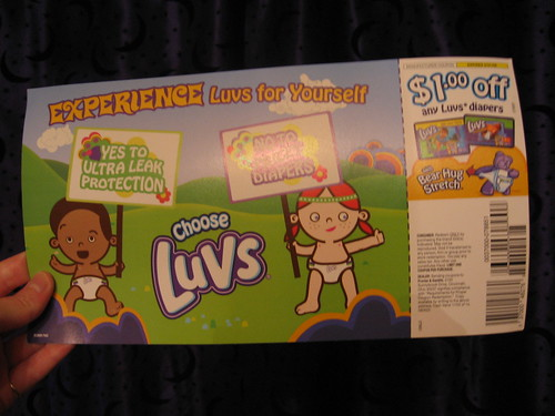 mobile coupons for luvs diapers
