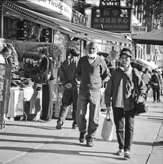 Old School Chinatown (Metrix X) Tags: toronto mamiya c220 film chinatown pushed spadina iso50 adox filmisnotdead nvfam ortho25