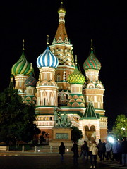 St. Basil's Cathedral (eric journey) Tags: travel history night russia moscow redsquare iconic                 sooc