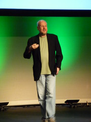 Douglas Crockford. He knows lots of stuff about Javascript. Hmmm... Wish I had something wittier to say...
