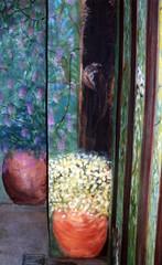 MURO DIPINTO (Ġ∂ßℜἰ) Tags: muro verde painting casa colore arte ombra giallo cielo mio bianco colline casolare marrone bosco quadri lavoro prospettiva emozioni pennello viale contrasto pittura dipinto vegetazione pazienza immenso granuloso
