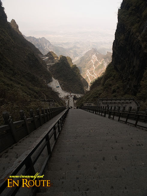Tianmen Cave View